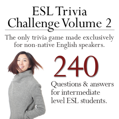 The ESL game that teaches language and knowledge.